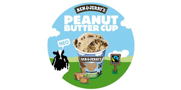 PEANUT BUTTER CUP από τα BEN & JERRY'S!