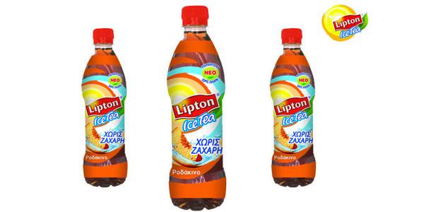 Νέο Lipton Ice Tea Ροδάκινο χωρίς ζάχαρη. Δροσισ-tea-τε άφοβα!