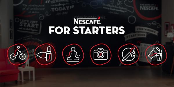 Nescafeforstarters.gr: Εσύ βάζεις τη διάθεση, ο Nescafé βάζει τα ξεκινήματα!