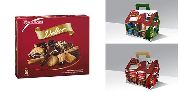 Εσείς τι δώρο θα κάνετε φέτος τις γιορτές;  Τα Μπισκότα Παπαδοπούλου σας προτείνουν 3 ξεχωριστές εορταστικές συσκευασίες