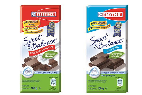 Διεθνής διάκριση για τις σοκολάτες SWEET & BALANCE της ΓΙΩΤΗΣ