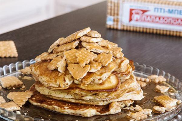 Pancakes με «ΠΤΙ-ΜΠΕΡ» ΠΑΠΑΔΟΠΟΥΛΟΥ