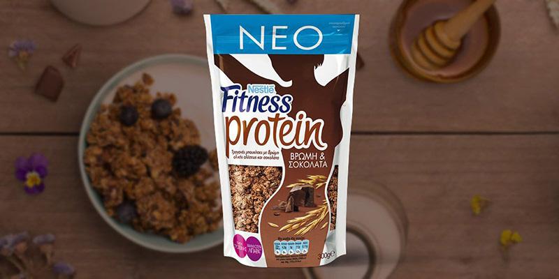 Νέο FITNESS Protein με Σοκολάτα