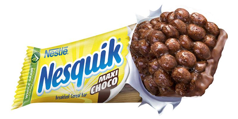 ΝΕΑ μπάρα δημητριακών NESQUIK® Maxi Choco