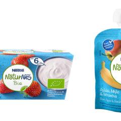 Ανανεωμένη σειρά βιολογικής βρεφικής διατροφής NaturNes Bio